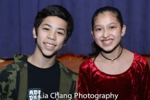 Kai Rivera and Avelina Sanchez. Photo by Lia Chang